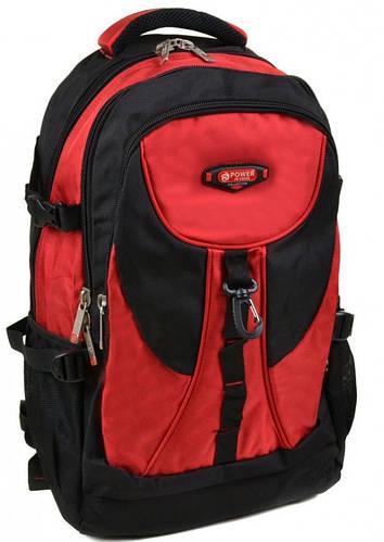 Яркий городской рюкзак из нейлона Power In Eavas 38 л. 8716 red
