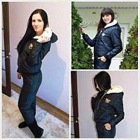 Спортивный костюм женский зимний Монклер , купить спортивный костюм