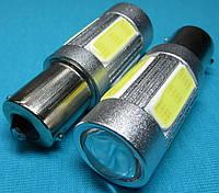 Автомобильные светодиоды P21W для заднего хода ba15s 1156 COB