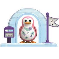 Игровой набор с интерактивным пингвином DigiPenguins - ИГЛУ ПАРКЕРА (с иглу и свиcтком)