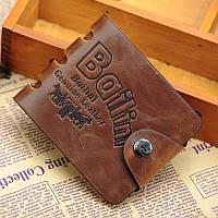 Кожаный мужской кошелек, портмоне, бумажник Bailini .ЕК78