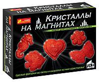 Creative Наука Кристаллы на магнитах 0385 Красные 12126002Р Набор для научного творчества