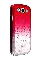 Чехол с эффектом росы красный для Samsung Galaxy S3/S3 duos
