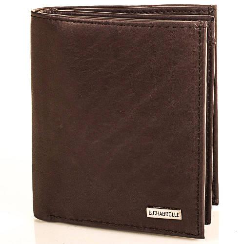 Привлекательное мужское портмоне из натуральной кожи Georges Chabrolle Артикул: FARE90004-2 коричневый