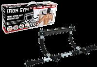 Турник для дома, домашний турник Iron Gym. Позволяет выполнять 12 различных силовых упражнений. Код: КЕ438