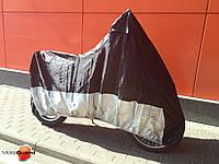 Моточехол MotoGuard Premium Black-Silver, XL