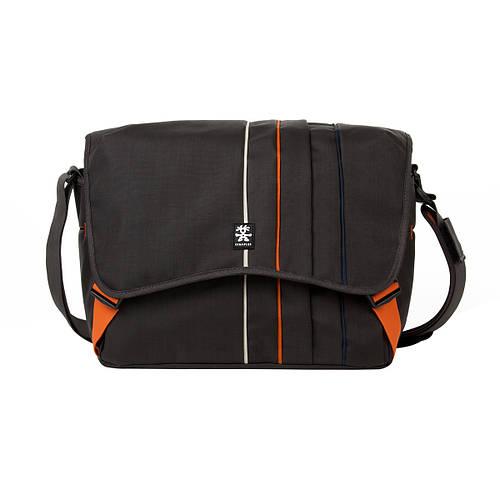 """Сумка для зеркального фотоаппарата и ноутбука 15"""" Crumpler Jackpack 9000 (grey black / orange), JP9000-005"""