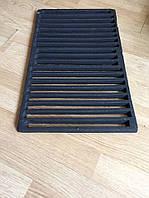 Чугунная решетка гриль для барбекю и мангала. Размеры 53.5 см х 28.5 см.