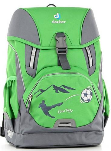 Качественный школьный рюкзак для мальчика DEUTER OneTwo 3830015 2014 зеленый