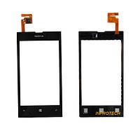 Сенсор (тачскрин) Nokia Lumia 520 Black Original