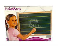 Доска для рисования с мелками и губкой  Eichhorn, 58х45 см