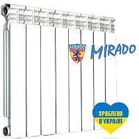 Радиатор биметаллический для отопления 100х500 (Mirado)