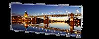 Стеклокерамическая нагревательная  панель HGlass IGH 4012 фотопечать 500/250 Вт