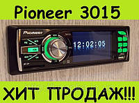 "Автомагнитола Pioneer 3015 LCD 3""_USB_SD_FM_AUX_ГАРАНТИЯ+ПУЛЬТ"