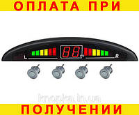 Парктроник (парковочная система) 4 датчика серый