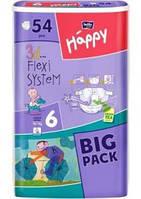 Детские подгузники, памперсы Bella Happy Junior Extra 6 (16+кг) Big Pack 54  шт