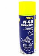 Универсальная проникающая смазка (ведешка) Mannol M-40 Lubricant 450 мл.