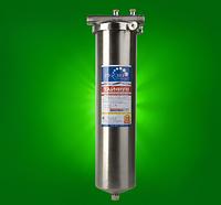 Магистральный  фильтр Гейзер Тайфун 20 ВВ с картриджем  Арагон 3