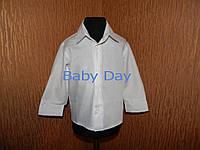 Рубашка для мальчика классика белая