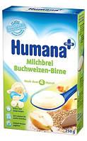 Каша HUMANA молочная гречневая с грушей сухая для детей от 6-ти месяцев 250 г