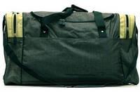 Практичная вместительная большая дорожная сумка из жатки  46 л. Wallaby 437