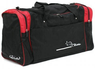Удобная большая дорожная сумка из жатки 46 л. Wallaby 437-4