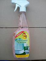 Средство для удаления солей жесткости, для ванной комнаты Пчелка (Бджілка) 750 мл с распылителем