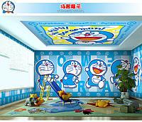 Эксклюзивные 3D фотообои в детскую комнату