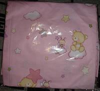 Сменный комплект постельного белья на резинке (в кроватку)