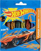 HW14-076K Мелки восковые Jumbo, 8 цветов, Hot Wheel