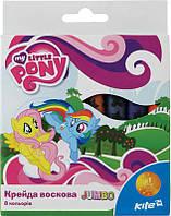 LP15-076K Мелки восковые Jumbo, 8 цветов, Little Pony