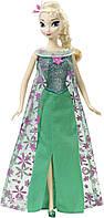 Поющая кукла Эльза Холодное торжество Frozen Fever Disney