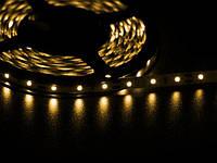 Светодиодная лента 3528  60 LED желтая 4.0-4.5 Lm/LED IP33