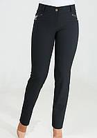 """Красивые женские брюки """"Милана"""" черного цвета"""