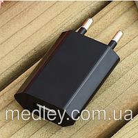 Сетевой адаптер для зарядки от сети через USB-разъем (переходник) 1А