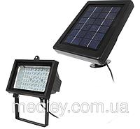Прожектор на солнечной батарее 54 LED для наружного освещения