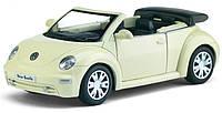 Машинка Volkswagen New Beetle Convertible ТМ Kinsmart арт. 5073