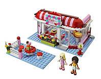 """Конструктор BELA FRIENDS 10162 """"Кафе в городском парке"""",аналог  LEGO 3061"""