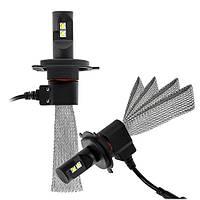 Светодиодная автолампа головного света Foton Led Headlight H4 33,6 Вт холодный свет