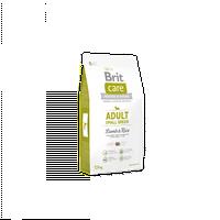 Супер-премиум корм Брит Кер для взрослых собак мелких пород 3кг, ягненок/рис