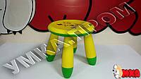 Детский пластиковый стульчик Жирафик Angry Birds (аналог IKEA)