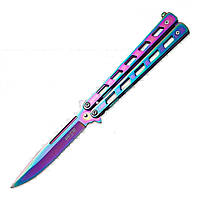 "Нож балисонг (складной) 1025 T ""нож-бабочка"" MHR"