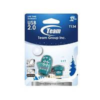 USB Flash Drive 4Gb Team T134 Green водонепроницаемая