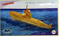 Деревянные 3Д пазлы Подводная лодка Р042 Sea Land