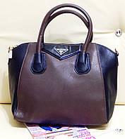 Женская сумочка-саквояж хорошего качества