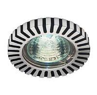 Светильник точечный FERON   DL1022 блестящий и черный  аллюминий