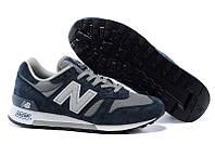 Мужские кросовки New Balance Denim Blue/Grey