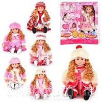 Интерактивная кукла Ксюша 5330-31-32-33 интерактивная, 6 видов, мимика, песни, сказки