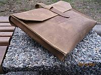 Папка для документов формата А4, натуральная кожа. Мастерская BERTY. Handmade in Ukraine.