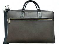 Кожаный портфель для ноутбука